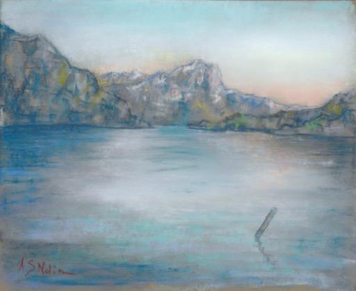 Soirée sur le lac de Lucerne